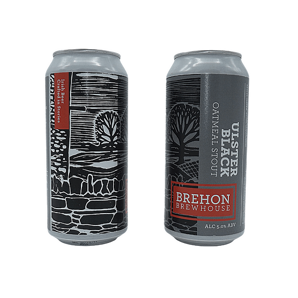Ulster Black Double Can