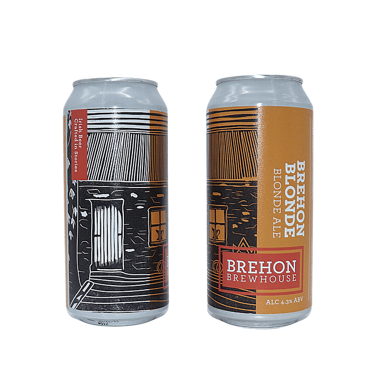 Brehon Blond Double Can