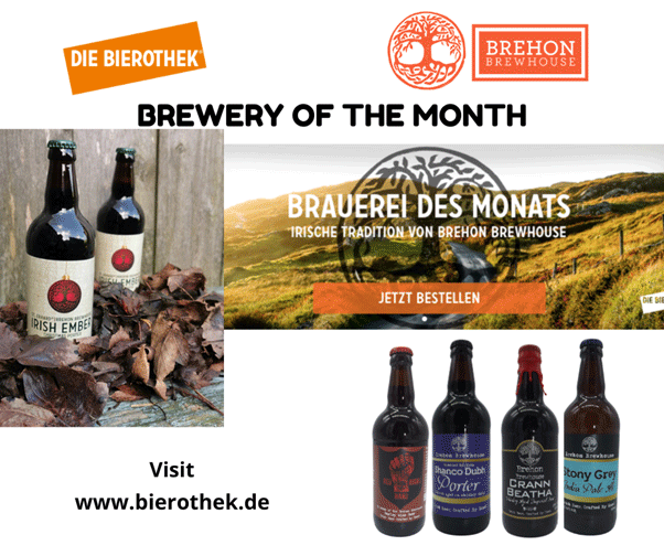 Brehon Brewhouse Brewery-of-th-Month