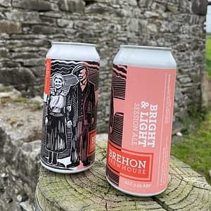 Brehon Brewhoue Bright and Light Session Ale.